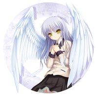 Angel Beats! 1st Beat Tenshi Acrylic Wall Clock