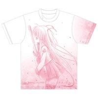 Angel Beats! 1st Beat Yui Visual Print T-Shirt
