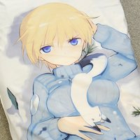 Strike Witches the Movie Eila & Nikka Dakimakura Cover