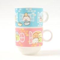 Sumikko House Stacking Mugs | Sumikko Gurashi