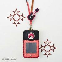 OJAGADESIGN Super Sonico Pass Case (Pink x Black)