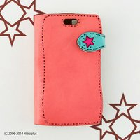 OJAGADESIGN Super Sonico Diary Pink x Blue iPhone6/6s Case