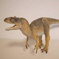 Dinotales Allosaurus: Brown Color Soft Vinyl Figure