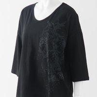 Ozz Oneste Marineko Pattern Oversized T-Shirt