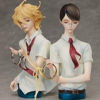 Classmates Hikaru Kasukabe & Licht Sajo Statue & Ring Style Set