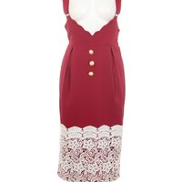 Swankiss Rose Pearl Jumper Skirt