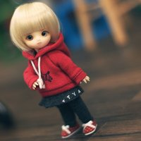 Dolk Original Doll: Brownie White Normal Skin w/ Makeup (Full Set)