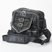 Rozen Kavalier Buckle Point Shoulder Bag