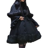 Atelier Pierrot Princess Sleeve Coat w/ Cape