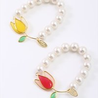 Honey Salon Stained Glass Tulip Bracelet