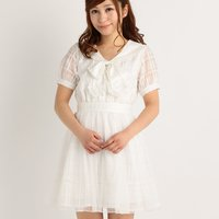 LIZ LISA Message Lace Dress