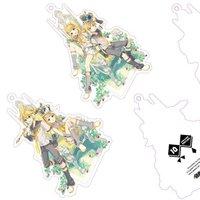 Kagamine Rin/Len 10th Anniversary Acrylic Keychain