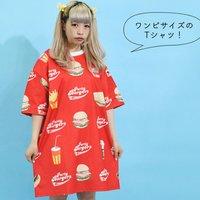 ACDC RAG Burger T-Shirt Dress