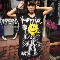 HYPER CORE Dead Smile Dolman T-Shirt