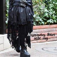 ACDC RAG Kuroko Asymmetrical Skirt