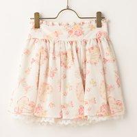 LIZ LISA Candy Sukapan Skirt