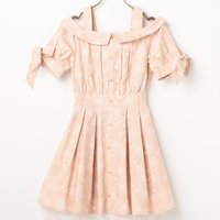 LIZ LISA Embroidered Print Dress