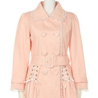 Swankiss Lace Trench Coat