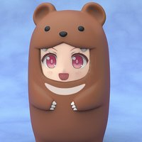 Nendoroid More Brown Bear Face Parts Case (Re-run)
