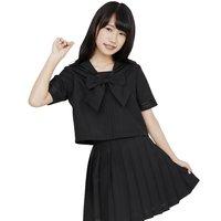 Color Sailor: Black Sailor Suit Cosplay Outfit