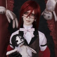 Black Butler: Book of Circus Grelle Sutcliff Cast Doll