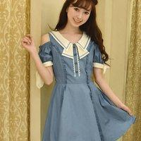 LIZ LISA Dungaree Dress