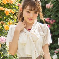 LIZ LISA Bowtie Ribbon Blouse