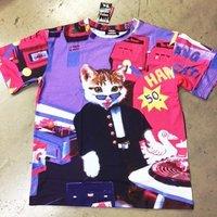 ACDC RAG Name Neko Game Center T-Shirt
