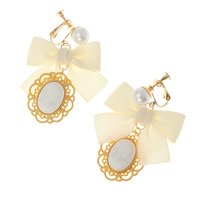 LIZ LISA Cameo Earrings