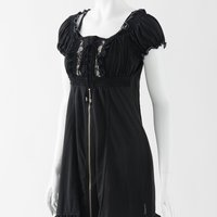 Ozz Oneste Embroidered Rose Tunic