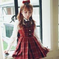 Bobon21 Classic Pinafore Dress