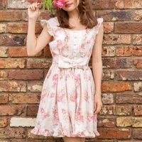 LIZ LISA Vintage Rose Dress