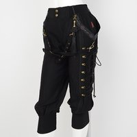 Ozz Oneste Lace-Up Cropped Pants