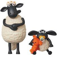 Ultra Detail Figure Aardman Animations #2: Shaun the Sheep Timmy & Timmy's Mum
