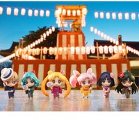 Petit Chara! Sailor Moon Soldiers of the Outer Solar System Yukata Ver. Box Set