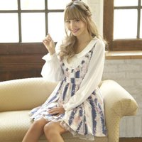 LIZ LISA Stripe Rose Dress