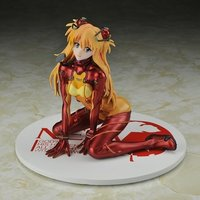 Rebuild of Evangelion Asuka Langley Shikinami Test Plugsuit Ver. Metallic Red 1/7 Scale Figure