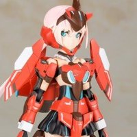 Frame Arms Girl Stylet: A.I.S. Color