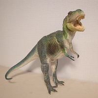 Dinotales Tyrannosaurus: Green Color Soft Vinyl Figure