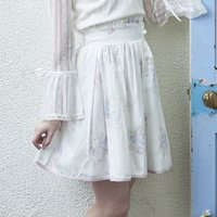 LIZ LISA Bouquet Pattern Skirt