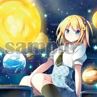 Planetarium A3 Acrylic Art Board | Eri Natsume
