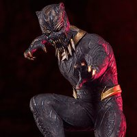 Battle Diorama Series Black Panther 1/10 Scale Killmonger