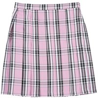 Teens Ever Pink x Black High School Uniform Skirt