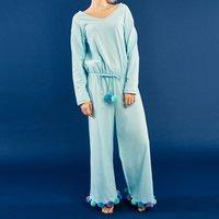 YUMMY MART Pom Pom Onesie Pajamas