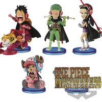 One Piece World Collectable Figure: Mugiwara56 Vol. 1