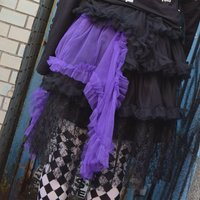 ACDC RAG 3-Tiered Pannier Skirt
