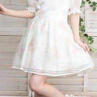 LIZ LISA Opal Flower Skirt