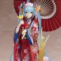 Character Vocal Series 01: Hatsune Miku ~Hanairogoromo~ 1/8 Scale Figure