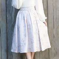 LIZ LISA Tweed Floral Skirt