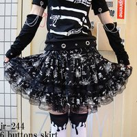 ACDC RAG 6-Button Skirt